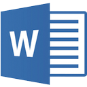 A Microsoft Word file